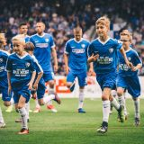 F-Jugend Einlaufkinder beim VfL Bochum