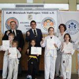 Hapkido- und Taekwondo-Gürtelprüfung